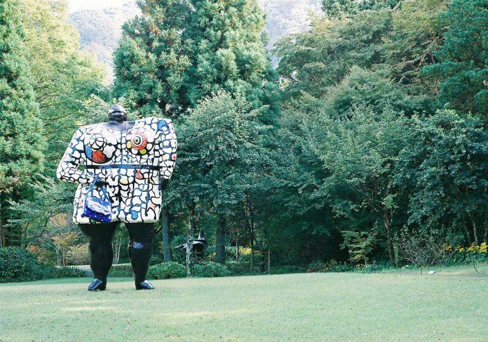 箱根彫刻の森美術館、ニキ・ド・サン・ファール「ミス・ブラック・パワー」