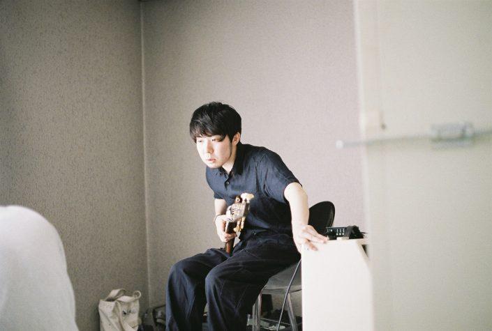 岡崎シビコでベースを弾くbanjaman