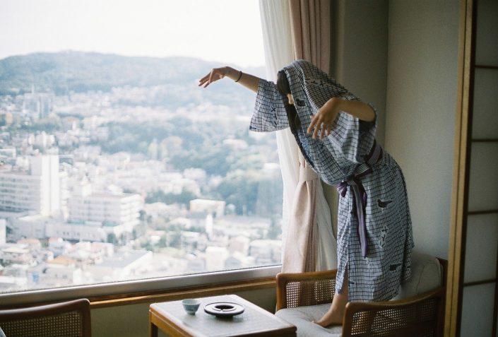 ハトヤホテルの浴衣