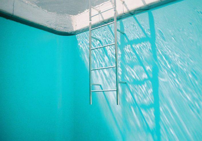金沢21世紀美術館のスイミング・プール