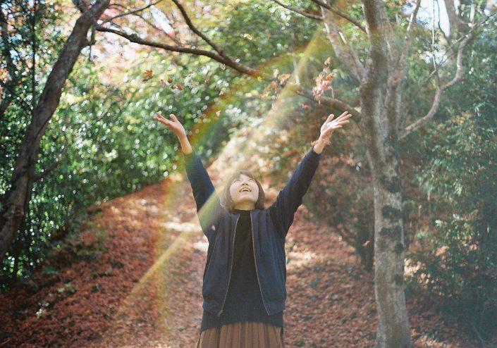 香嵐渓の紅葉01