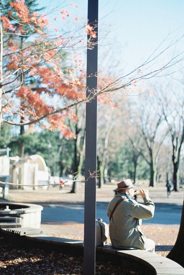 井の頭公園と老人