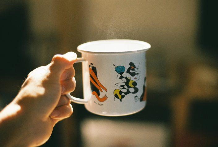 オオクボリュウのマグカップ