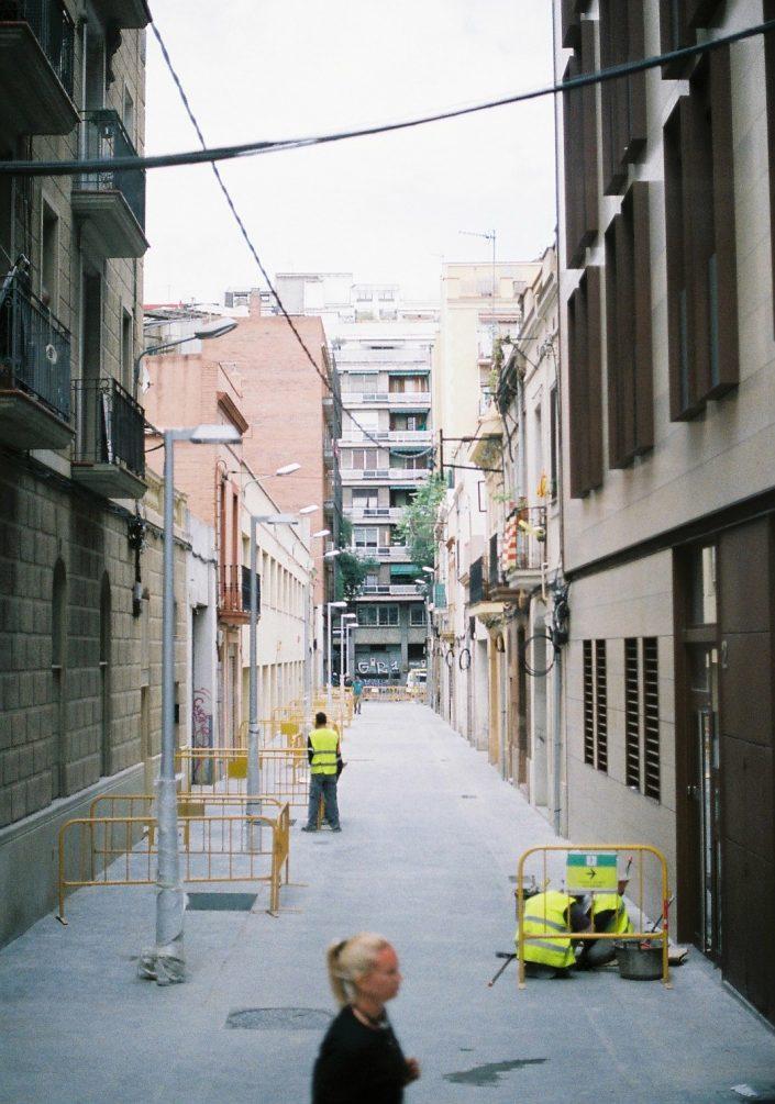 バルセロナの路地裏