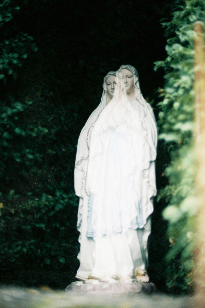中ノ浦教会のマリア像