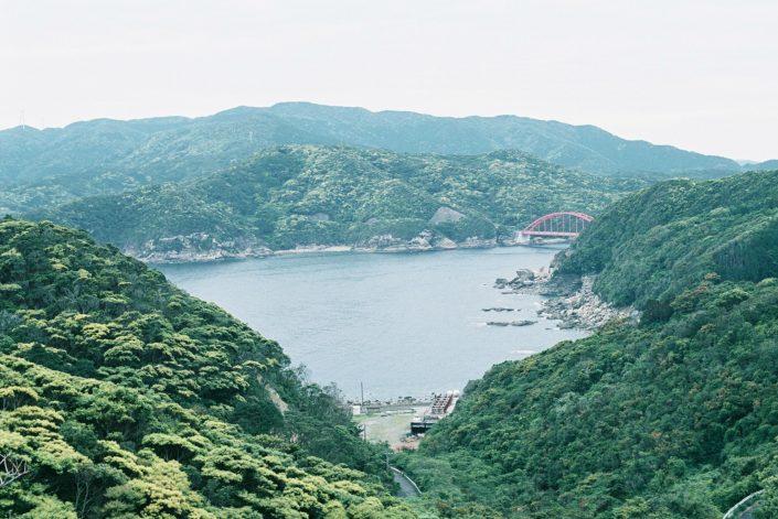 上五島空港からの眺め