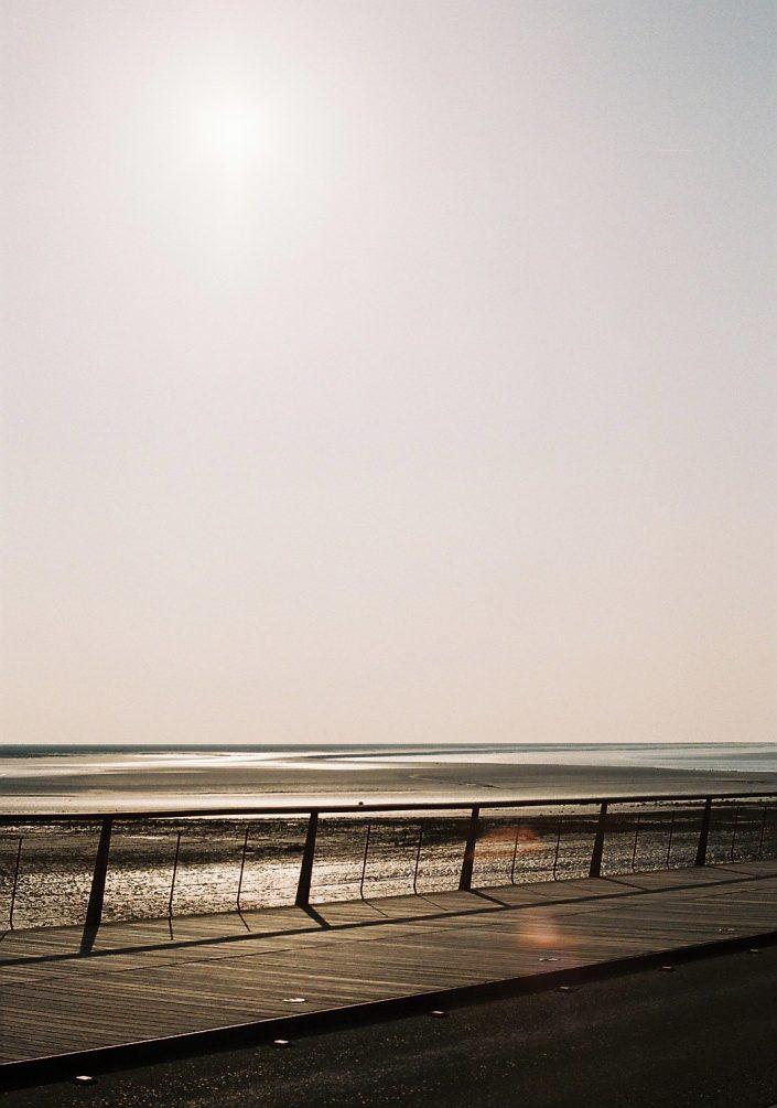 モン・サン=ミシェルの海