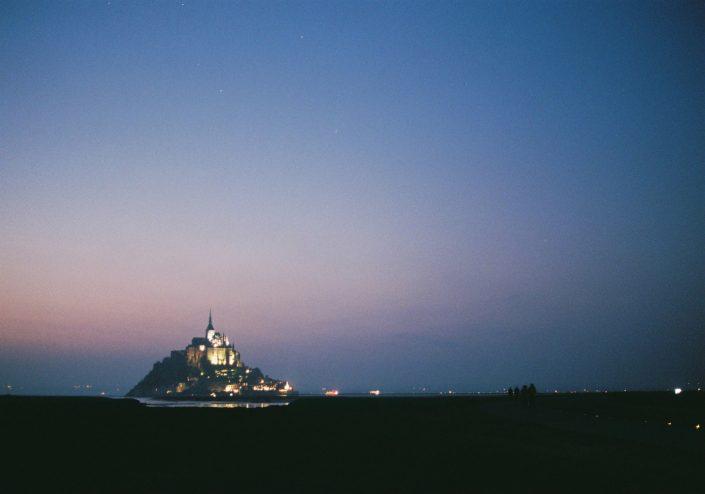 モン・サン=ミシェルの夜景