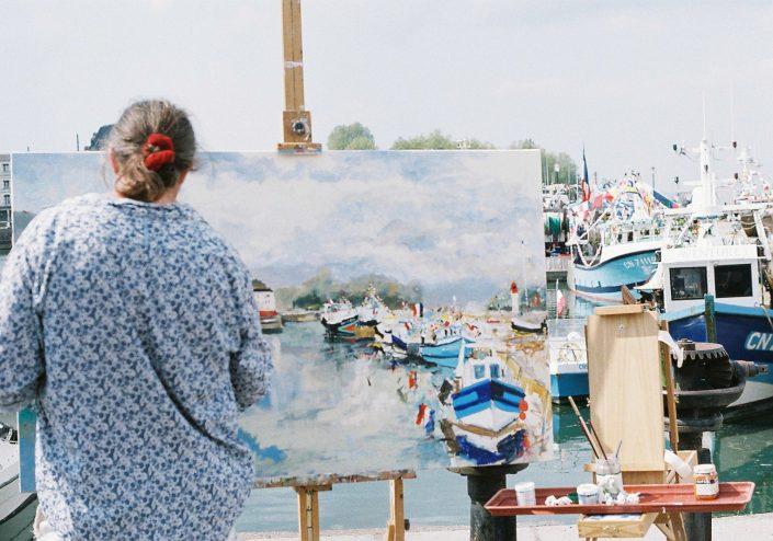 オンフルールの画家