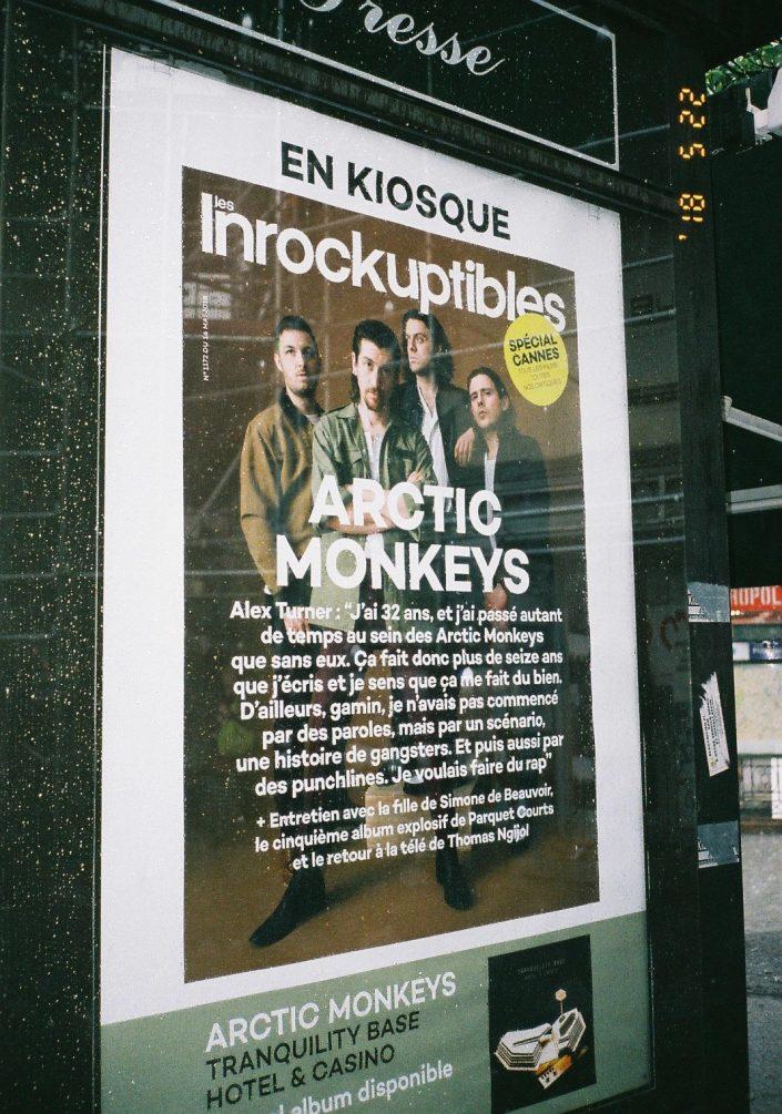 Arctic Monkeysのポスター